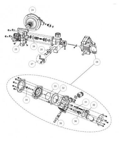 Regulador Hidraulico Delta 11