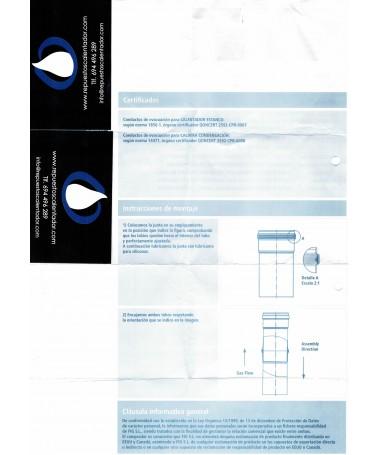 Instrucciones de montaje calentadores ESTANCO