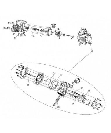 Despiece modelo PILOT 11 GLP