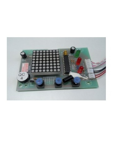 BOTONERA DISPLAY INOX MEM INOX FLAT 30-200 L