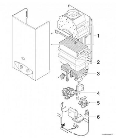 Calentador Junkers miniMAXX W11 B31 S2806 7701431663
