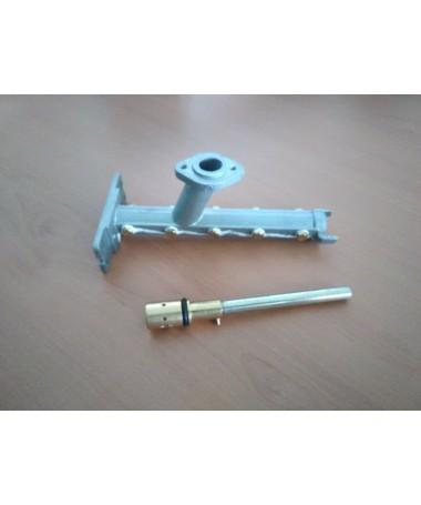 Kit línea de inyectores completas + eje selector de caudal de gas